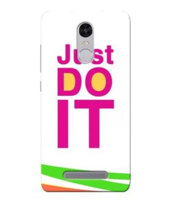 Just Do It Xiaomi Redmi Note 3 Mobile Cover