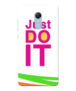 Just Do It Xiaomi Redmi Note 4 Mobile Cover