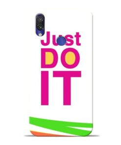Just Do It Xiaomi Redmi Note 7 Pro Mobile Cover