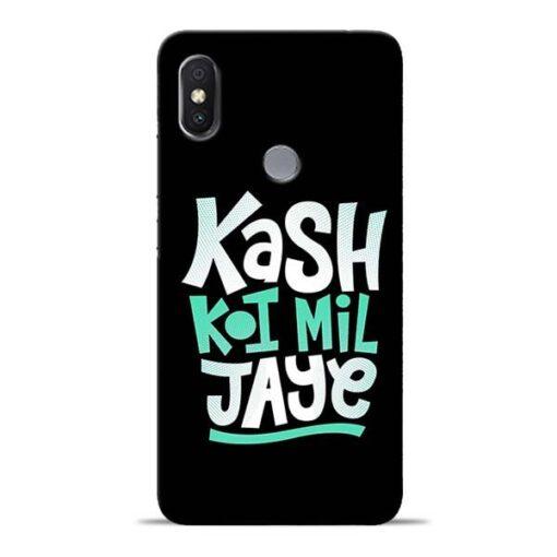 Kash Koi Mil Jaye Redmi S2 Mobile Cover