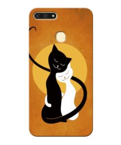 Kitty Cat Honor 7A Mobile Cover