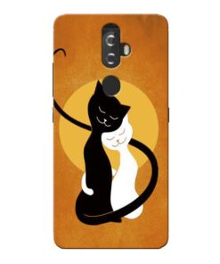 Kitty Cat Lenovo K8 Plus Mobile Cover