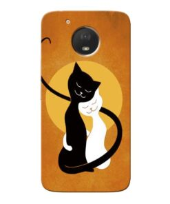 Kitty Cat Moto E4 Plus Mobile Cover