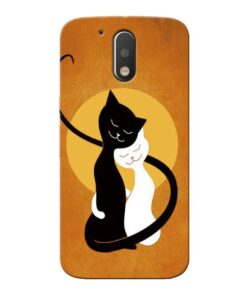 Kitty Cat Moto G4 Plus Mobile Cover