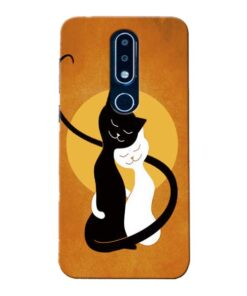 Kitty Cat Nokia 6.1 Plus Mobile Cover