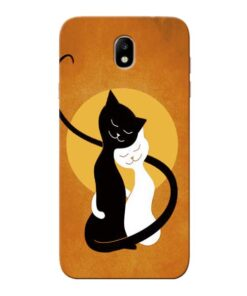 Kitty Cat Samsung Galaxy J7 Pro Mobile Cover