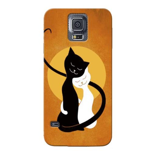 Kitty Cat Samsung Galaxy S5 Mobile Cover
