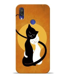 Kitty Cat Xiaomi Redmi Note 7 Mobile Cover