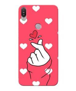 Little Heart Asus Zenfone Max Pro M1 Mobile Cover