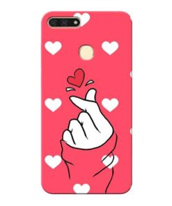 Little Heart Honor 7A Mobile Cover