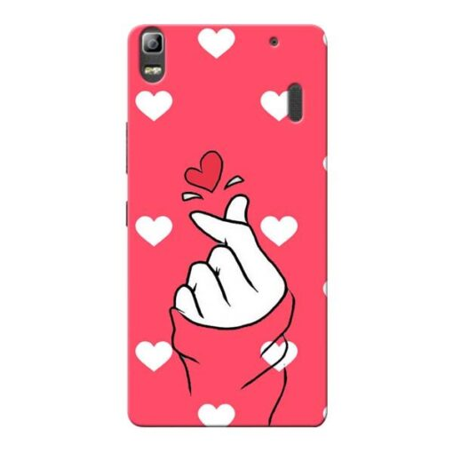 Little Heart Lenovo K3 Note Mobile Cover