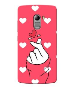 Little Heart Lenovo Vibe K4 Note Mobile Cover