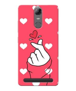 Little Heart Lenovo Vibe K5 Note Mobile Cover