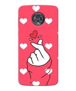 Little Heart Moto G6 Mobile Cover