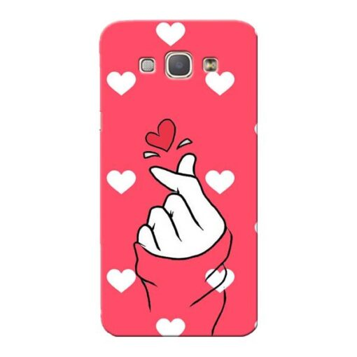 Little Heart Samsung Galaxy A8 2015 Mobile Cover