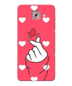 Little Heart Samsung Galaxy J7 Max Mobile Cover