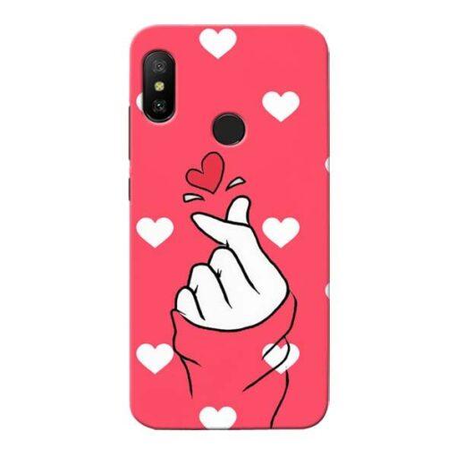 Little Heart Xiaomi Redmi 6 Pro Mobile Cover