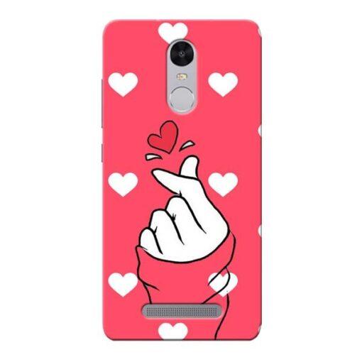 Little Heart Xiaomi Redmi Note 3 Mobile Cover