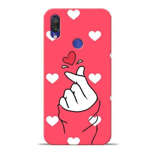 Little Heart Xiaomi Redmi Note 7 Mobile Cover