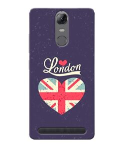 London Lenovo Vibe K5 Note Mobile Cover