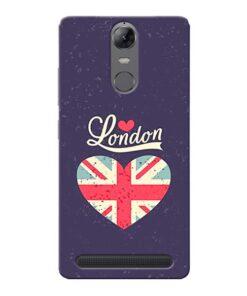 London Lenovo Vibe K5 Note Mobile Cover