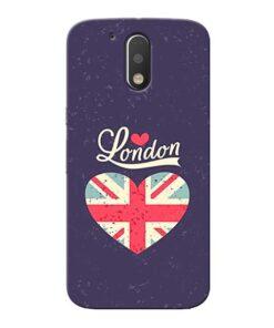 London Moto G4 Mobile Cover
