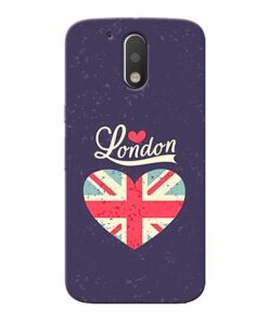 London Moto G4 Plus Mobile Cover