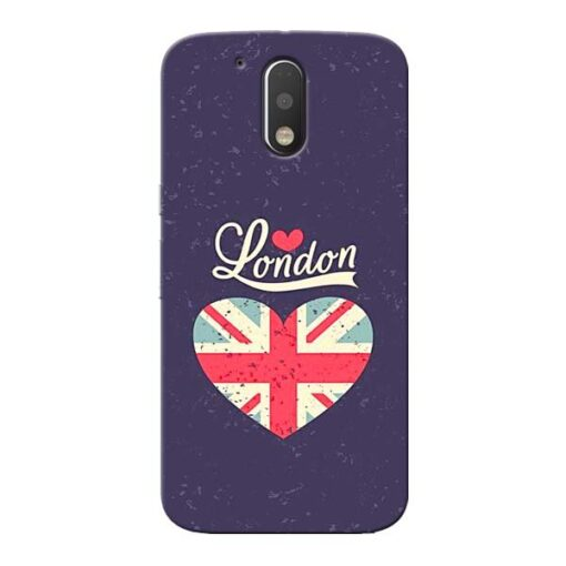 London Moto G4 Plus Mobile Cover