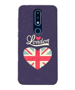 London Nokia 6.1 Plus Mobile Cover