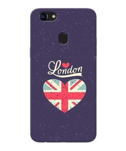 London Oppo F5 Mobile Cover