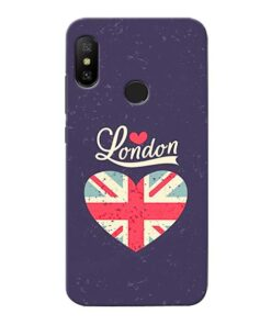 London Xiaomi Redmi 6 Pro Mobile Cover