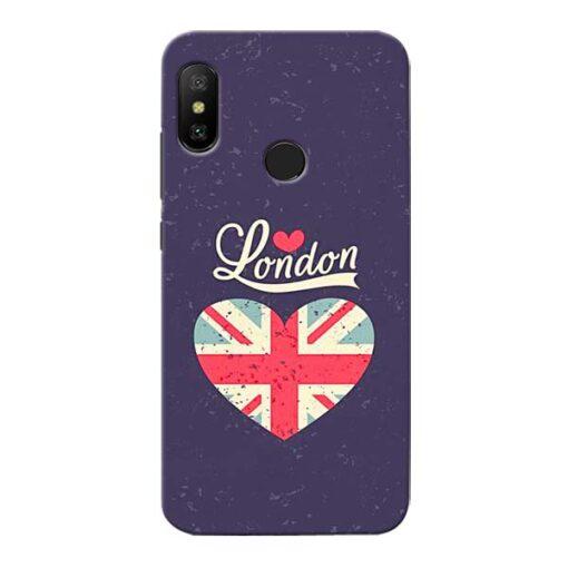 London Xiaomi Redmi 6 Pro Mobile Cover