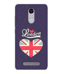 London Xiaomi Redmi Note 3 Mobile Cover