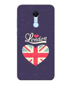 London Xiaomi Redmi Note 5 Mobile Cover