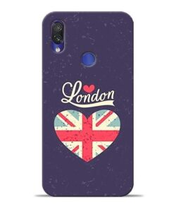 London Xiaomi Redmi Note 7 Mobile Cover