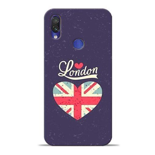 London Xiaomi Redmi Note 7 Mobile Cover
