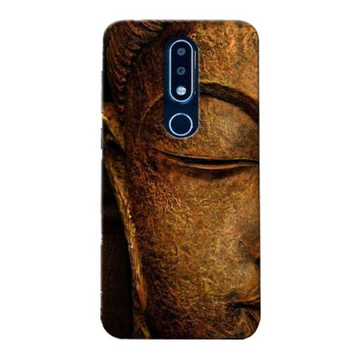 Lord Buddha Nokia 6.1 Plus Mobile Cover