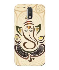 Lord Ganesha Moto G4 Mobile Cover