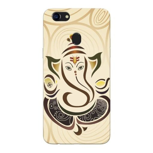 Lord Ganesha Oppo F5 Mobile Cover