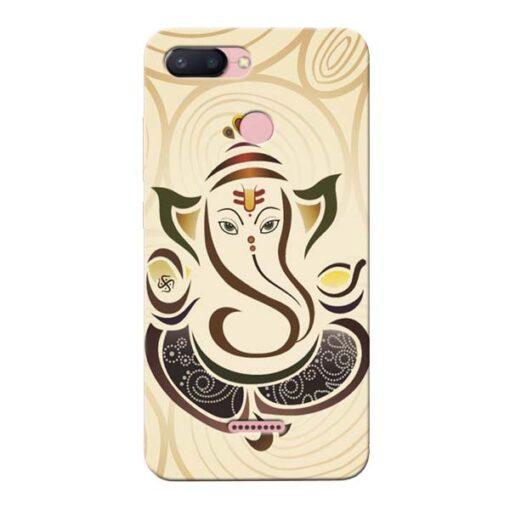 Lord Ganesha Xiaomi Redmi 6 Mobile Cover