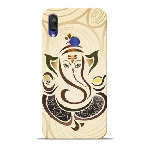 Lord Ganesha Xiaomi Redmi Note 7 Pro Mobile Cover