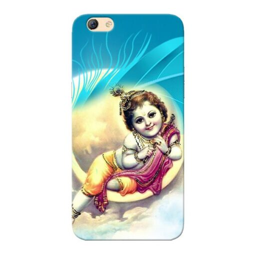 Lord Krishna Oppo F3 Mobile Cover