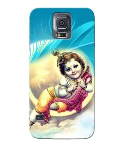 Lord Krishna Samsung Galaxy S5 Mobile Cover