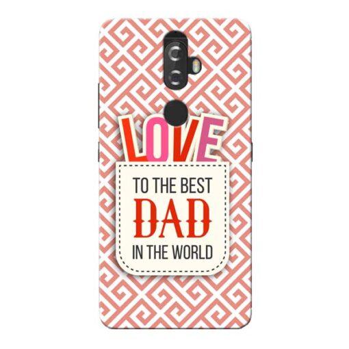 Love Dad Lenovo K8 Plus Mobile Cover