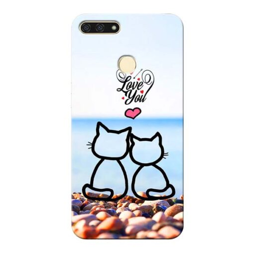 Love You Honor 7A Mobile Cover