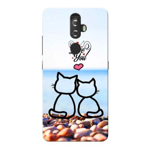 Love You Lenovo K8 Plus Mobile Cover