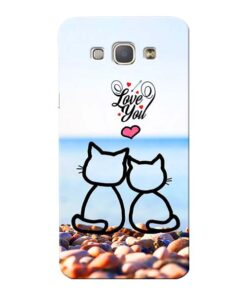 Love You Samsung Galaxy A8 2015 Mobile Cover