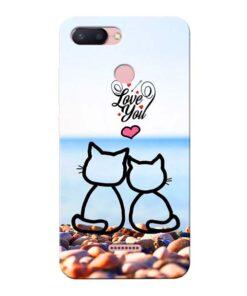 Love You Xiaomi Redmi 6 Mobile Cover