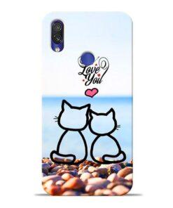 Love You Xiaomi Redmi Note 7 Mobile Cover