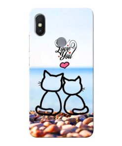 Love You Xiaomi Redmi S2 Mobile Cover